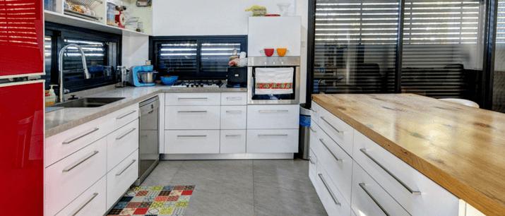 מטבחים מעוצבים בטכנולוגיית בניה קלה