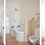חדרי אמבטיה מפוארים ומרווחים בשיטת בניה קלה