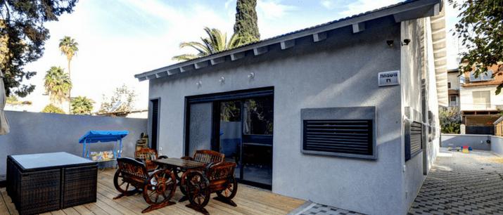 בניה קלה של בתי מגורים פרטיים
