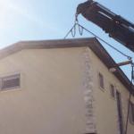 הובלה של בית פרטי בבניה קלה