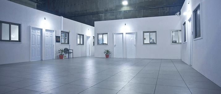 משרדי שטח מרווחים במיוחד