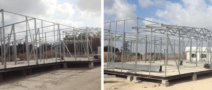תהליכי ייצור של בניה קלה
