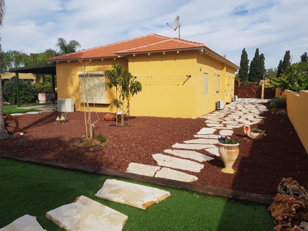 פרויקט מבנה מגורים נייד במבקיעים